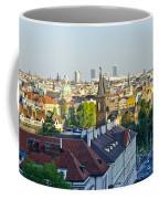 Prague And St Charles Bridge Coffee Mug