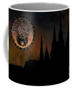 Prague Casle - Cathedral Of St Vitus - Monuments Of Mysterious C Coffee Mug by Michal Boubin