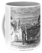 Prague: Castle Stairs Coffee Mug