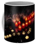 Prague Church Candles Coffee Mug by Stelios Kleanthous