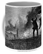 Prairie Fire, 1874 Coffee Mug