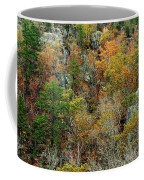 Prarie Hollow Gorge In Autumn Coffee Mug