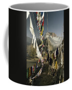 Prayer Flags Hang In The Breeze Coffee Mug