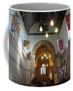 Praying At The St Mary Church Inside Dover Castle In England Coffee Mug