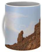 Praying Monk With Halo Camelback Mountain Coffee Mug