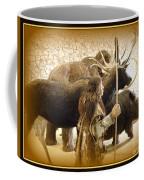Prehistoric Man And Friends Coffee Mug