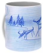 Prehistoric Scenic Coffee Mug