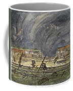 Kansas Cyclone, 1887 Coffee Mug