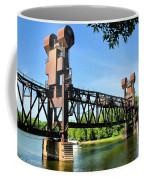 Prescott Lift Bridge Coffee Mug by Kristin Elmquist