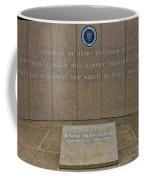 President Ronald Reagan Resting Place Coffee Mug