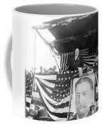 President Taft Giving A Speech In Augusta - Georgia C 1910 Coffee Mug