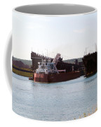 Presque Isle Ship Loading Coffee Mug