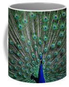 Pretty As A Peacock Coffee Mug