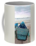 Pretty Blue Boat Coffee Mug