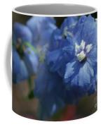 Pretty Blue Delphinia Coffee Mug