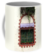 Pretty Decorated Window Coffee Mug