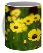 Pretty Yellow Coffee Mug