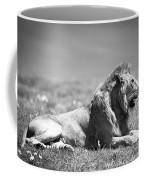 Pride In Black And White Coffee Mug