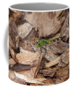 Profile Of Green Dragonfly Coffee Mug