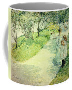 Promenaders In The Garden Coffee Mug