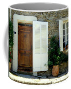 Provence Door Number 4 Coffee Mug