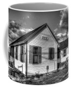 Provincetown Cottages Bw Coffee Mug