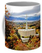 Provo Temple Oak Coffee Mug