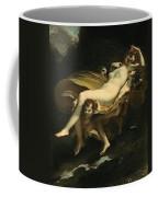 Psyche Transported To Heaven Coffee Mug