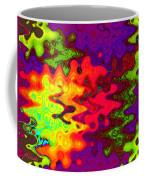 Psychedelic Guitar Coffee Mug