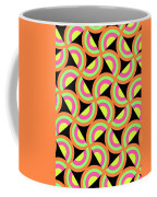Psychedelic Squares Coffee Mug by Louisa Knight