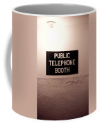 Public Phone Booth Coffee Mug