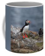 Puffin With Sand Eels Coffee Mug