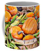 Pumpkin And Corn Combo Coffee Mug