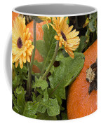 Pumpkin And Gerberas Coffee Mug