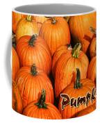 Pumpkin Card Coffee Mug