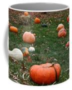 Pumpkin Field Coffee Mug