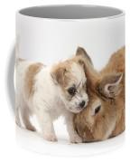 Pup And Rabbit Coffee Mug