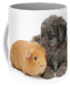 Puppy And Guinea Pig Coffee Mug