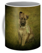 Puppy Sitting Coffee Mug