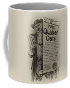Pure Quaker Oates Coffee Mug
