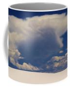Pure White Sand And Mountain Storms Coffee Mug