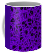 Purple And Blue Abstract Coffee Mug