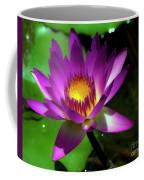 Purple And Gold Three Coffee Mug
