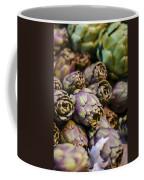 Purple Artichokes At The Market Coffee Mug