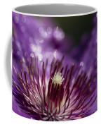Purple Clematis And Bokeh Coffee Mug