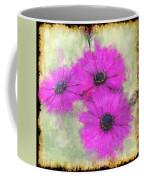 Purple Daisy Trio II Coffee Mug