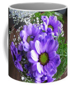 Purple Flowers In The Bubble Coffee Mug