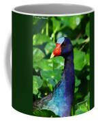 Purple Gallenule Coffee Mug