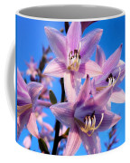Purple Hosta Blooms Coffee Mug