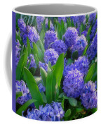 Purple Hyacinths Coffee Mug